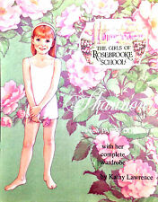 ROSEBROOKE SCHOOL SHANNON Paper Doll Book s EBAY BEST PRICE!  NEW!