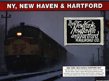 NEW YORK NEW HAVEN & HARTFORD Willabee Ward GREAT AMERICAN RAILROAD EMBLEM PATCH