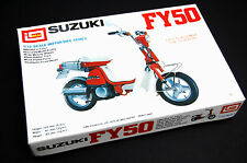 Boxed vintage 1/12 SUZUKI FY50 Motorcycle model by IMAI 1975 from old shop stock