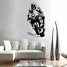 Guy Wall Art MOTO RACER Decalcomania ADESIVO GRAFICHE