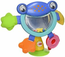 Fisher Price Baby Spielzeug - Kinderwagen Activity Pal - Froggy Spaß - Saugnapf