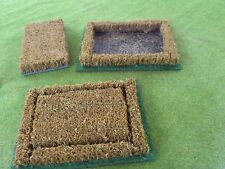 wargames scenery / terrain 25 to 28 mm scale, one Cornfield section  in A4 box
