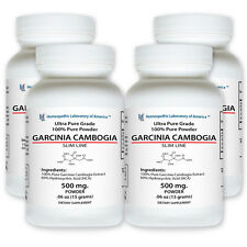 4 bottles 100% Pure Garcinia Cambogia Extract Super Weight Loss Max Fat Burner