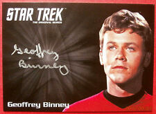 STAR TREK TOS 50th GEOFFREY BINNEY (Compton) VERY LIMITED Autograph Card