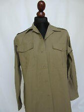 Army Khaki Field Shirt Feldhemd Air Corps Chino Officer Uniform WK2 Style USMC