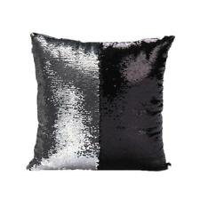 Magic Reversible Mermaid Sequins Cushion Glitter Cover Sofa Throw Pillow Case Z