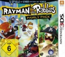 Nintendo 3ds rayman and rabbids family pack excellent état