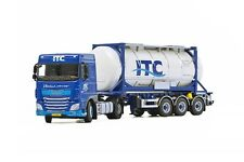 WSI COLLECTIBLES DAF XF SC 4X2 & CONTAINER TRAILER 3 AXLE ITC HOLLAND BV 01-2012