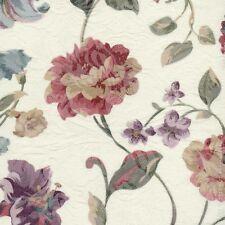 2 x Schlaufenschal Vorhang 140 cm x 245 cm  Blumen Rosen Lilien Jacquard