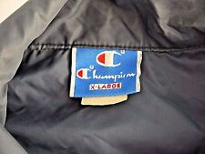 VINTAGE 70s 80s CHAMPION coaches jacket mens XL Hilton Head Island blue tag USA