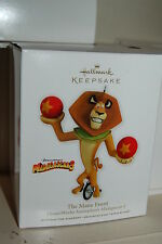 Hallmark 2012 The Mane Event Madagascar 3 Disney Lion Movie Ornament