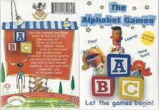 THE ALPHABET GAMES (DVD) LET THE GAMES BEGIN Kids Baby Children Educational NIP