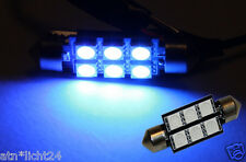Soffitte Innenraumbeleuchtung Lampe 12V 38mm 39mm 6x LED SMD Chip C5W C10W 10W