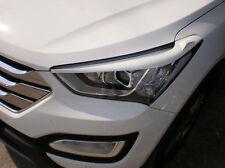 Headlight Point Y8Y Beige Eyebrow 2p For 2013-2015 Hyundai Santa Fe SPORT : DM