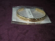 NEW SKAGEN BANGLE GOLD TONE BRACELET MESH DESIGN MF# JCSG029 ORG $65