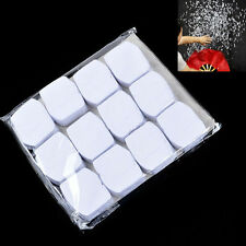 12pcs White Snowflakes Paper Snow Storm Magic Trick Halloween Xmas Stage Props