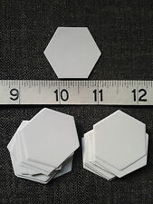"3/4"" Hexagon Templates - English Paper Piecing Quilting/Patchwork   x 100 pieces"