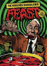 BLOOD FEAST / SCUM OF THE EARTH DVD - HERSCHELL GORDON LEWIS FEAST - ARROW