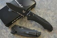 Benchmade 950SBK-1 Rift Tactical Folder Knife w/ Axis Lock & Reverse Tanto Blade