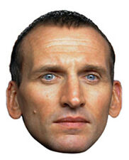 Christopher Eccleston The Ninth (9th) Doctor Who Single Card Fun Face Mask