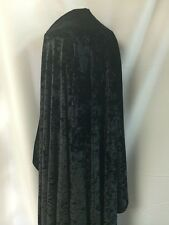 """CRUSHED STRETCH VELVET COSTUME/CRAFT DRESS FABRIC 4WAY 3 COLORS 58"""" BY THE YARD"""