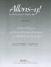 Allons Y! - Le Français Par Etapes by Jeannette D. Bragger and Donald B. Rice...
