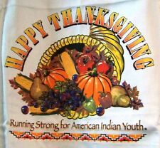 THANKSGIVING APRON 2013 - BILLY MILLS RUNNING STRONG FOR AMERICAN INDIAN YOUTH
