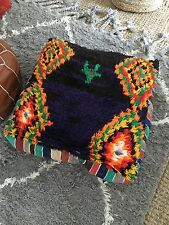 Moroccan  Berber Killim Pouf Floor Cushion Urban Outfitters/ Anthropologie