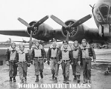 USAAF WW2 B-17 Bomber Crew Returns Home 8x10 Photo 401st BG New Release!