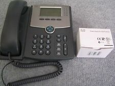 CISCO SPA504G 4-LINE VoIP PHONE LCD DISPLAY + POWER SUPPLY ADAPTER + NO STAND