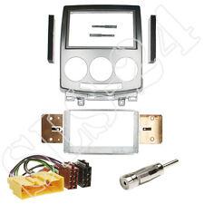 Mazda 5 ab06/05 Doppel 2-DIN Blende+ ISO KFZ Anschlußkabel + Antennenadapter SET