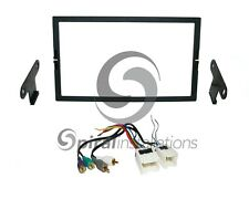 Radio Stereo Mounting Installation Dash Kit Combo DD + AMP Wire Harness NI89