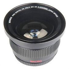 0.42X Wide Angle Lens For Canon Vixia XA10 XF100 XF105 HF G10 HF S30 HF S21