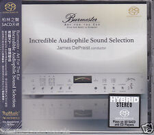 "Burmester ""Incredible Audiophile Sound Selection"" Stereo Hybrid SACD DSD CD New"