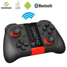 Wireless Gamepad Bluetooth Game Controller with Cell Phone holder for SmartPhone