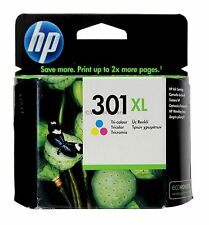 HP 301XL Tri-Color Ink Cartridge Europe CH564EE Old Gen Genuine Sealed