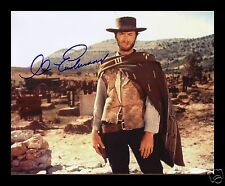 CLINT EASTWOOD AUTOGRAPHED SIGNED AND FRAMED PP PHOTO POSTER