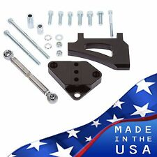 Black Ford Small Block Air Conditioning Bracket Sanden AC A/C 302 289 351W