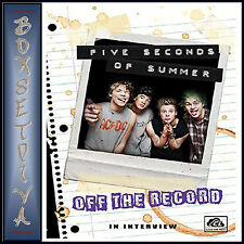 5 SECONDS OF SUMMER - OFF THE RECORD **BRAND NEW DVD***