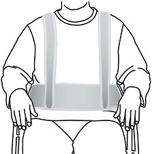 Secure WCH-1 Torso Support Self-Release Wheelchair Positioning Harness - Prev...