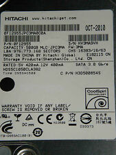 500 GB Hitachi HDS5C1050CLA382 / 0F12955 / JPC3MA / OCT-2010 / 0A72937 BA3321B