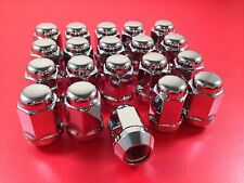 Volvo 120, Amazon, 140, 160 Set of 20 Alloy Wheel Nuts 1/2 inch UNF - Chrome