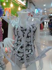 GAGA BEYONCE INSPIRED Transparent Plastic Jacket DRAG QUEEN  SHOWGIRL DANCER