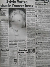 ▬►Journal France Soir 17/04/1999 Sylvie Vartan Pamela Anderson Brigitte Fontaine