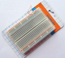 2pcs Mini Solderless Breadboard Bread Board 400 Contacts Available Test Develop