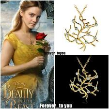 Beauty and the Beast Movie Merchandise Tree of Life Pendant Necklace ~ Free Ship