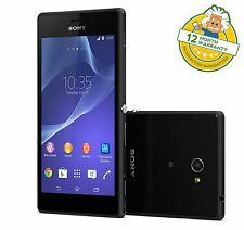 Sony Xperia M2 8Gb D2303 4G LTE Android Smartphone in Black Unlocked GRADE A