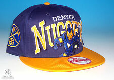 New Era Denver Nuggets 9Fifty Snapback Hat NBA Iron Man Marvel Super Heroes NWT