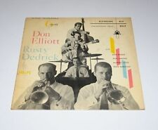 "DON ELLIOTT LP w/ RUSTY DEDRICK  Six 6 VALVES Riverside 10"" Ten Inch Jazz"