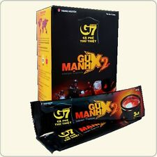 TRUNG NGUYEN, G7 Gu Manh X2, 3-in-1, Double Shot Instant, Coffee, Mix 12 packets